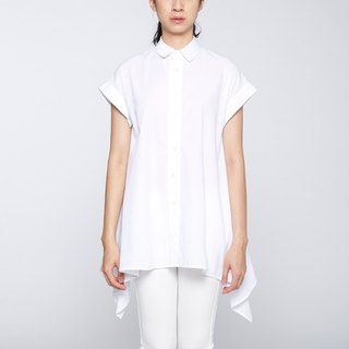 CA Marny Shirt Qiangnian umbrella Blouse - White