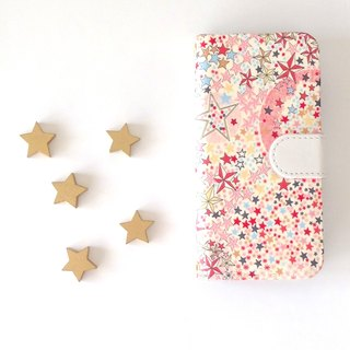 Liberty iphone 6.6s.7.8 notebook type case star twinkle