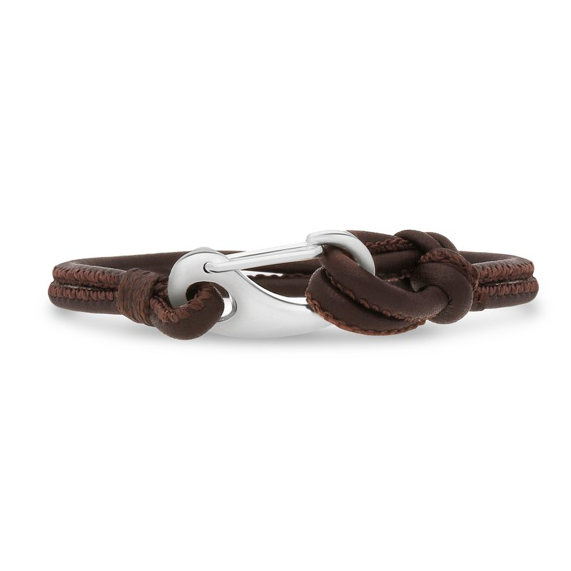 Ron Bracelet — Brown Leather