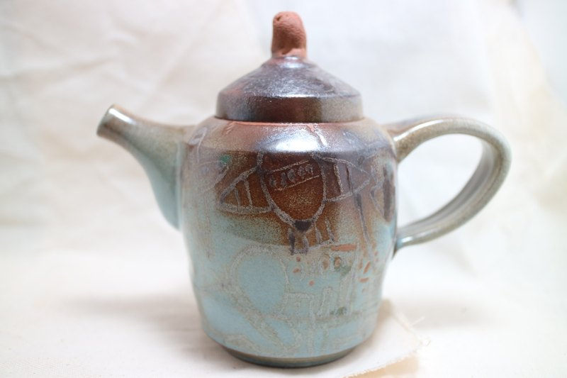 xuan-tao hand-painted teapot hand-painted collection of good products