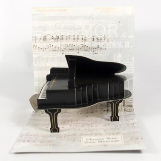 Stereo Card - Play the piano [Up With Paper]