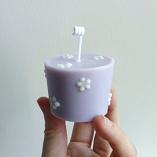 Little Daisy | Natural Soywax Scented Candle | Lavender & Chamomile