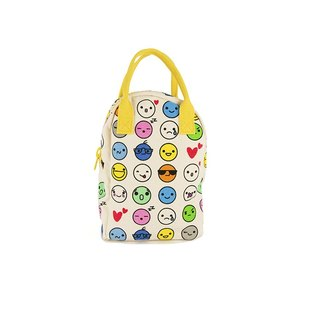 Canadian fluf organic cotton [backpack] - emoji