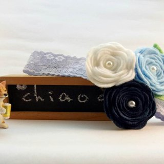 [Alice's summer fantasy trip] elastic elastic hair band baby full moon photo gifts parent-child