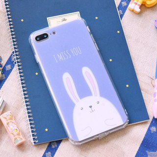 【RABBIT -PURPLE】ONOR CRYSTALS PHONE CASE