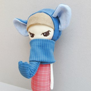 Baby elephant elf (eyes big Oh! ~)