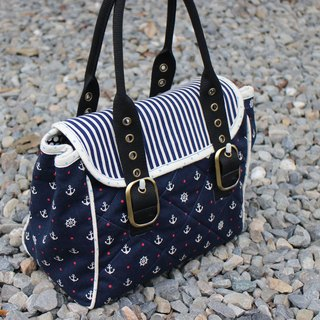 Love the Earth anchor hand-made bag * small bag | choose your favorite fabric
