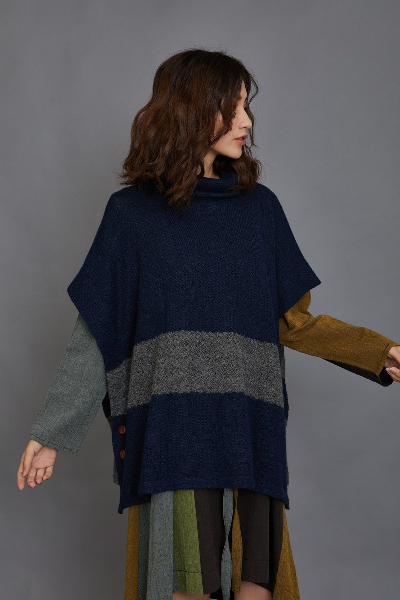 Alpaca two wear cloak _ fair trade