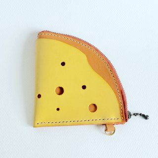 Graduation gift cheese styling wallet leather hand-sewn