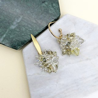 Swarovski Crystal 14kgf Earrings 【Wedding 】【Christmas Earring】【birthday Gift】
