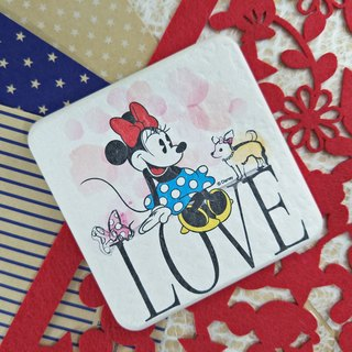 [Valentine's Day gift] Minnie - Genuine Disney Chameleon soil absorbent pad