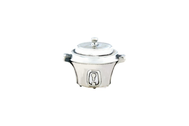 × Taiwan's ancient taste | × 925 sterling silver string decorated - electric pot * SBB-161201R