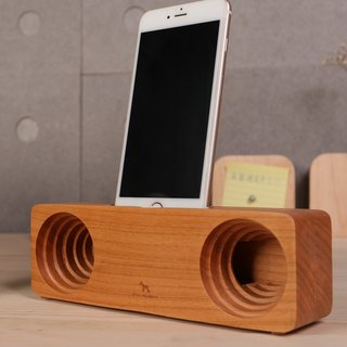Anjos mobile phone amplifier (cherry wood)
