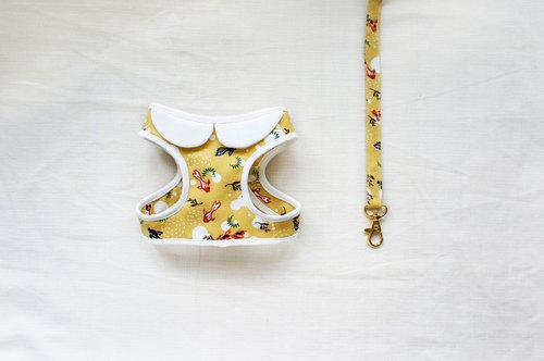 Summer and wind goldfish walk combination 1 <chest strap pull rope>