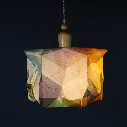 'deLight' Pendant Lamp | Handmade | Origami  | Award Winning Product