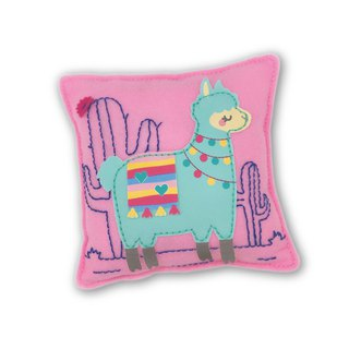 Fairy Land [Material Pack] Alpaca Pillow - Blue Green