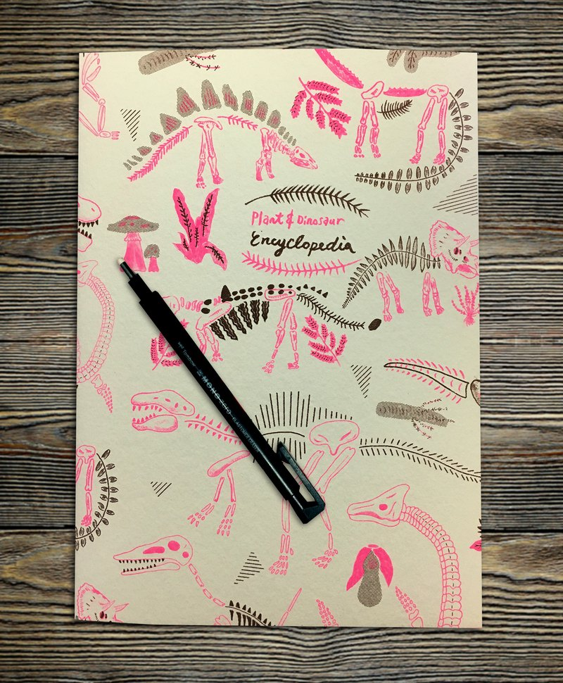 Dinosaurs Notebook