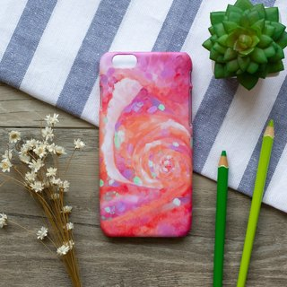 Pink Rose. Matte Case( iPhone, HTC, Samsung, Sony, LG, OPPO)