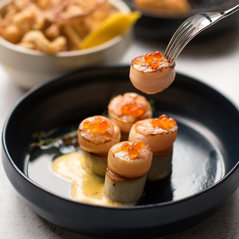 水相餐聚苑-日本北海道2S生食等級鮮干貝 6顆