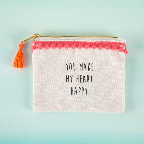 Text wallet - Heart Happy∣CPRS132