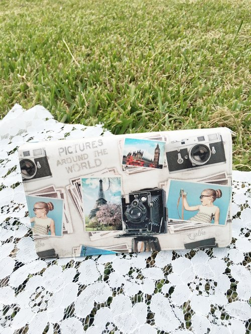Handmade Gifts Vintage Camera dorsal easily portable / hand dual-use package