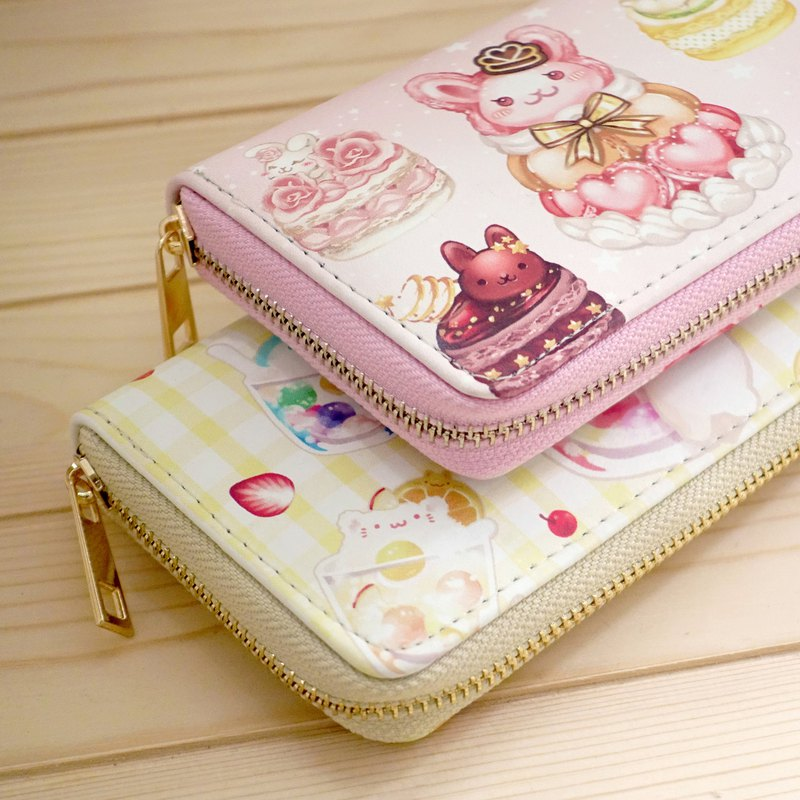 Christmas Gifts | Fast Shipping | Girly Japanese Cute Multi-layered Long Clip Wallet