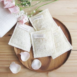 Thai Natural Scent Loofah Bath Mitt / 5pcs per 1 set