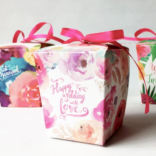 Handmade Jam - Forest Pastoral Wedding Couple Little | 50g | Pink Garden