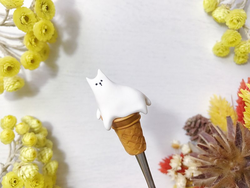 Ice Cream Melted / Melted Ice Cat