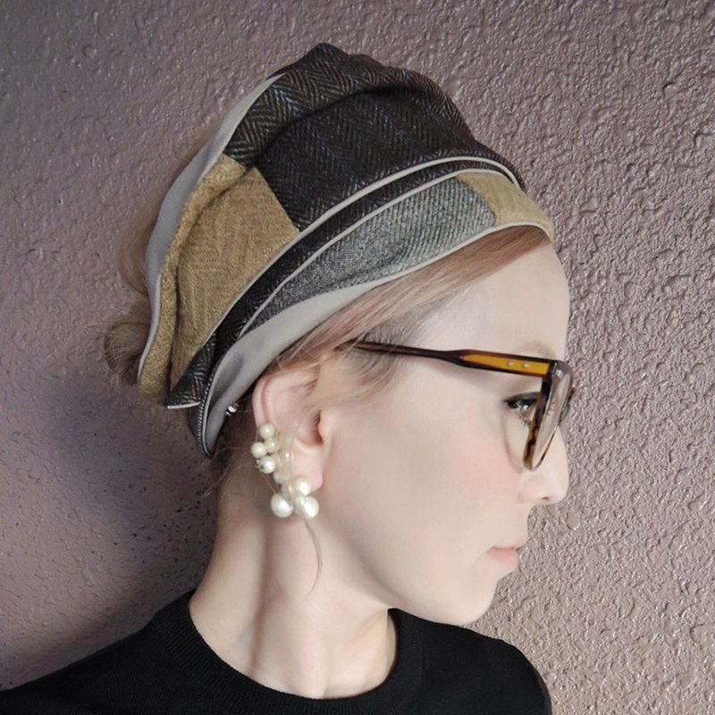 [RATA] Easy turban / size adjustment just by winding adult color