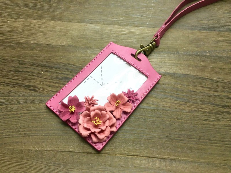 Leather Sakura CardHolder