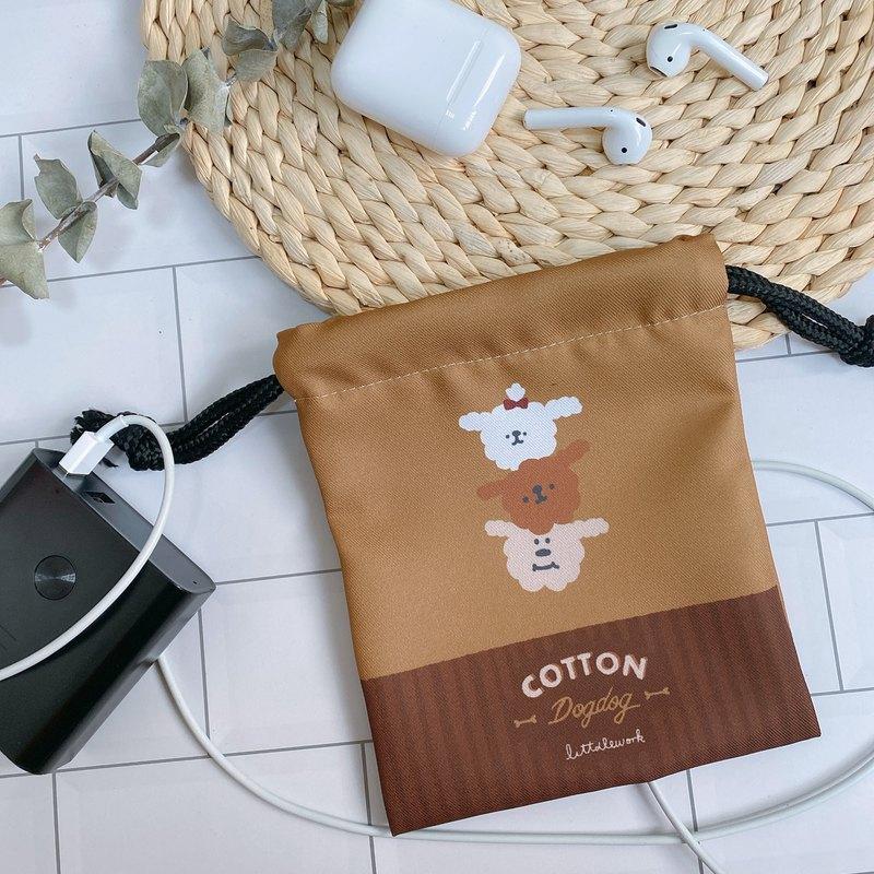 束口袋 | 棉花狗 | Littdlework