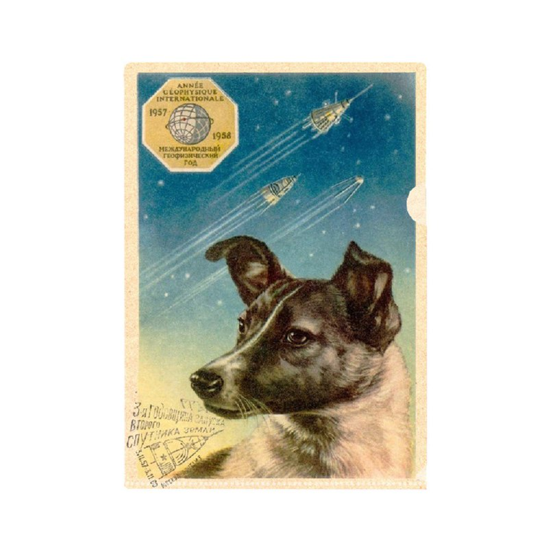 Laika the Space Dog Folder