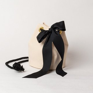 ROPE  POCHETTE  --  WHITE