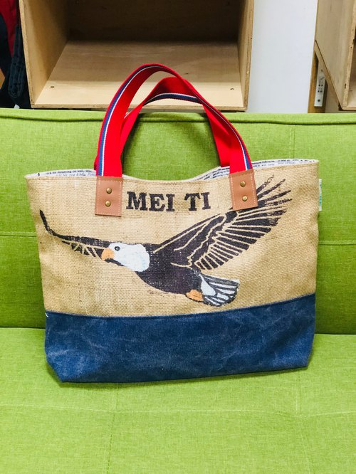 Environmental protection bag / cotton / limited hand / Wenqing essential / green shopping bags / sacks / recycling / love the earth