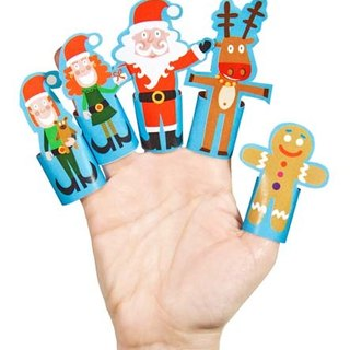 Christmas ► [] pukaca handmade educational toys finger doll series - Christmas