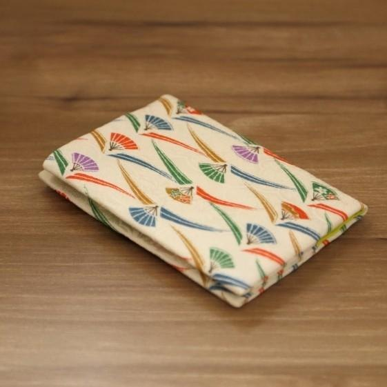 Gorgeous POP fancy × young plants kimono card case [silk]