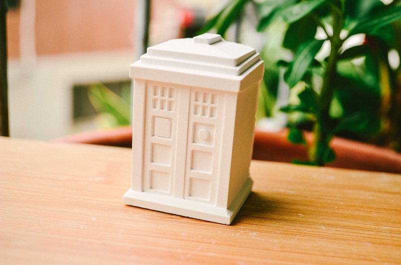British telephone booth spread incense stone incense stone brick Valentine's Day exchange gift graduation gift birthday