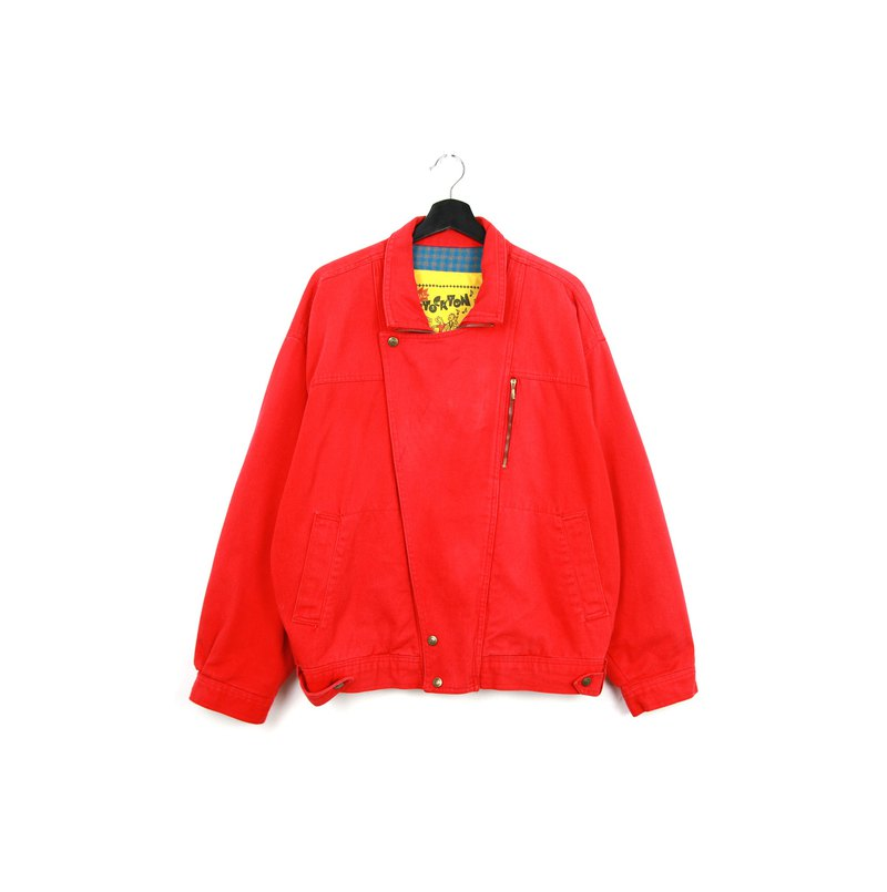 Back to Green:: Special Edition Denning is red //vintage denim
