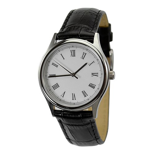 Backwards Watch Roman Men Watch Women Watch Free shipping worldwide