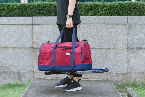 Not Just a Karrier – Red Duffle Bag