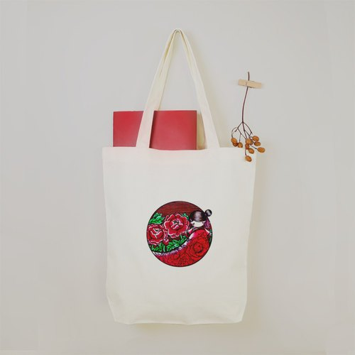 Ni Connahan Ni Carnahan - Peony Breeze Tote Bag