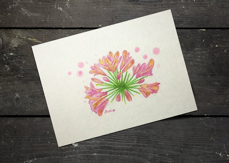 I belong to you :: :: flower postcard card