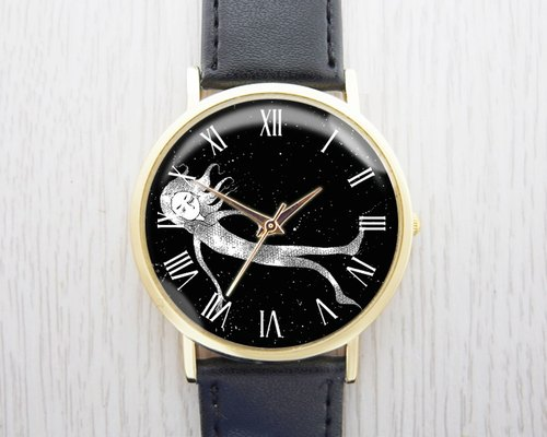 Sleepwalker - fashion leather strap watch ︱ ︱ ︱ men and women popular to wear with the best holiday gift items