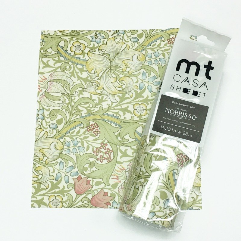 mt William Morris CASA SHEET 裝飾壁貼【百合 (MT03WW2305)】