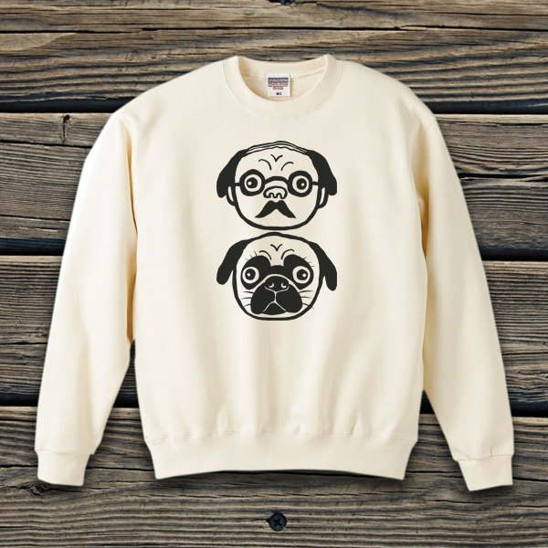Professor and Pug Sweat