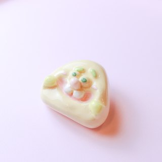 ㄉㄨㄞㄉㄨㄞ ceramic badge unique safety pin brooch badge badge jewelry cute pin kignjun