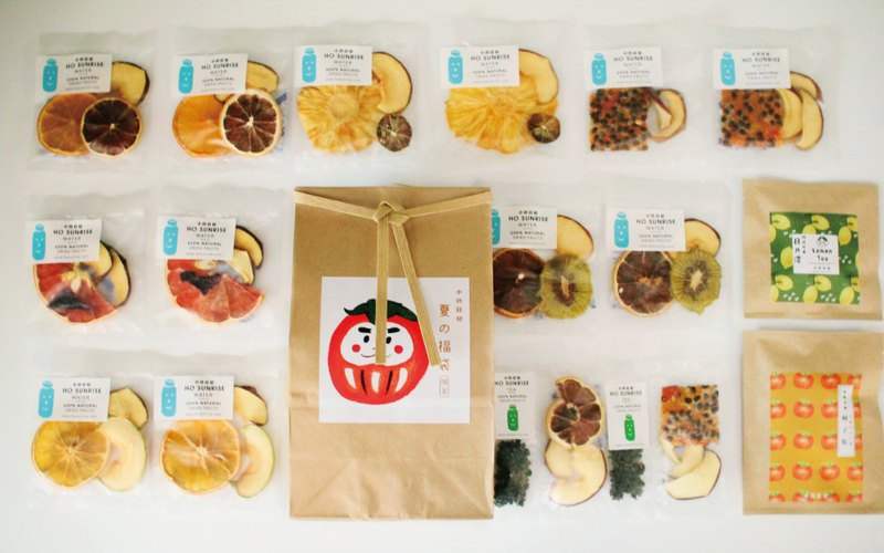 【はじめまして、Taiwan tea limitedセット】Dried fruit/ dried fruit tea bag discount