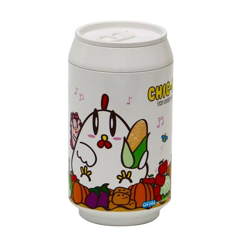 PLA Studio Eco Can- environmental readily Cup - greedy chick - White Special Edition A-280ml