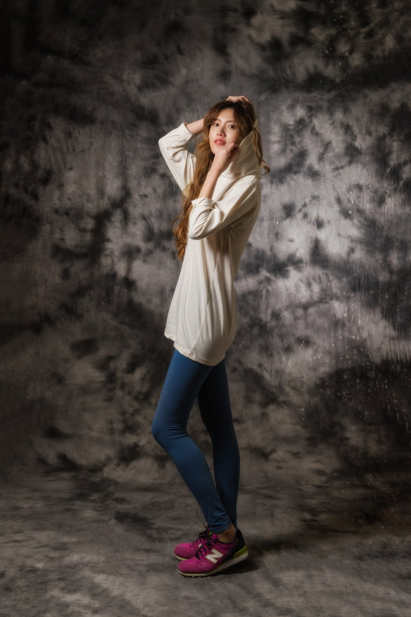 ~ Thin long sleeve long cap T plain plain adult 100% cotton ~ not afraid of autumn tiger and comfortable and breathable